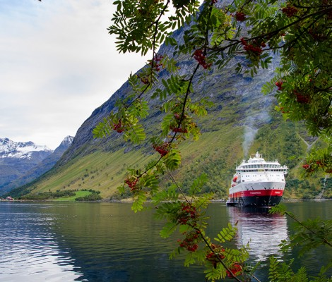 Strikkecruise med Hurtigruten