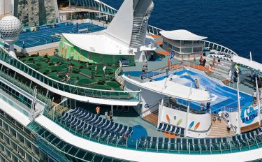 Transatlantisk cruise med Independence of the Seas