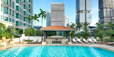 Intercontinental Singapore : Hotel : Reisecompaniet
