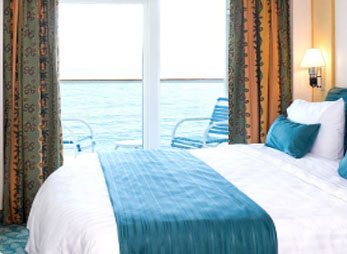 Lugar med balkong - Vision of the Seas RCCL : Reisecompaniet